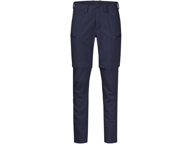 Bergans Utne Pantalón Zip-Off Mujer, azul